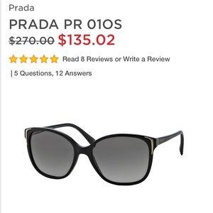 HOLD PRADA PR 01O Sunglasses!